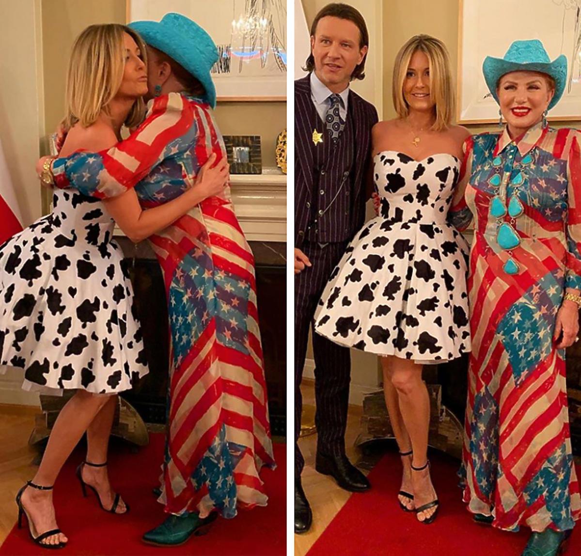Małgorzata Rozenek i Radosław Majdan w ambasadzie USA