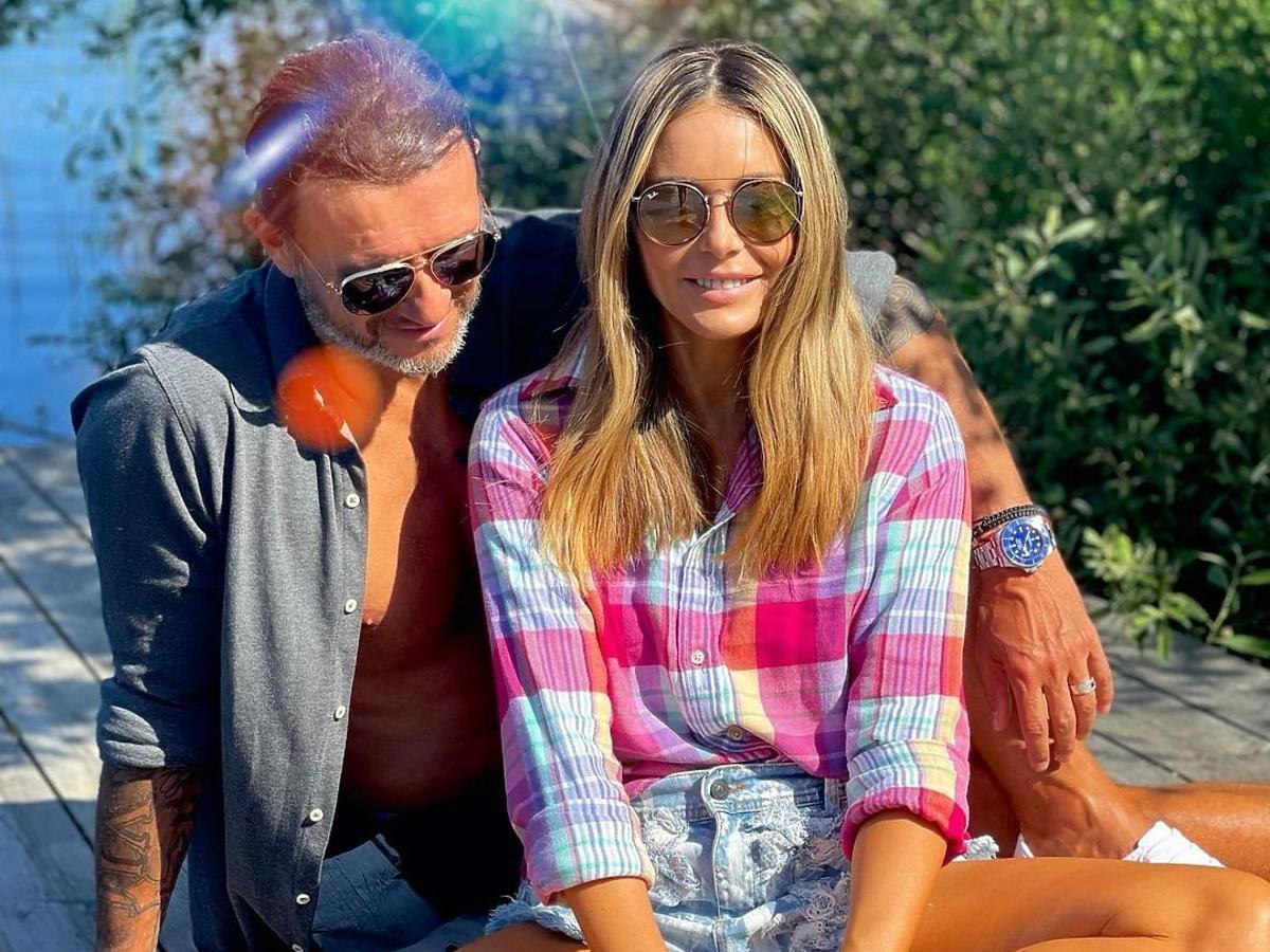 Małgorzata Rozenek i Radosław Majdan zgubili się w szwedzkim lesie