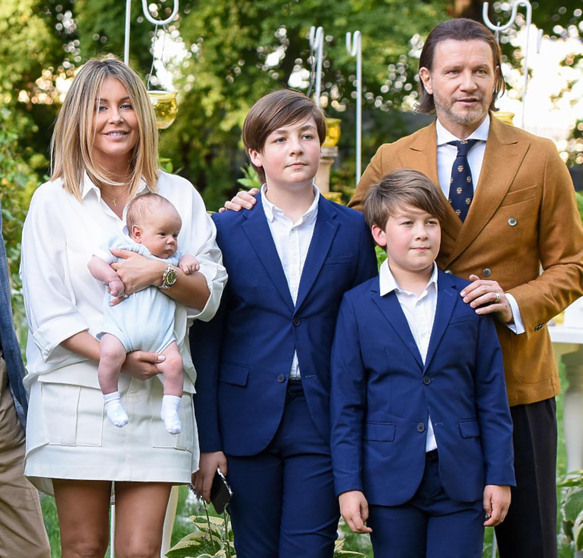 Małgorzata Rozenek Majdan i Radosław Majdan rozglądają się za domem