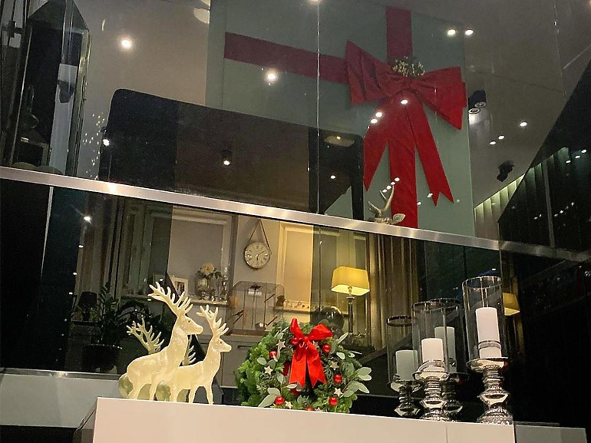 Małgorzata Rozenek-Majdan pokazała świąteczne dekoracje