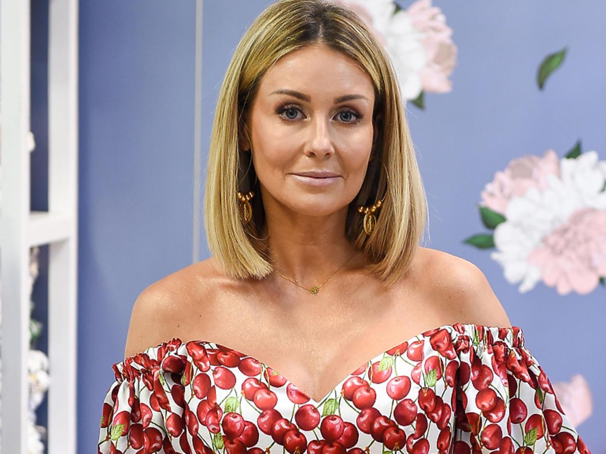 Małgorzata Rozenek-Majdan w sukience w kwiaty