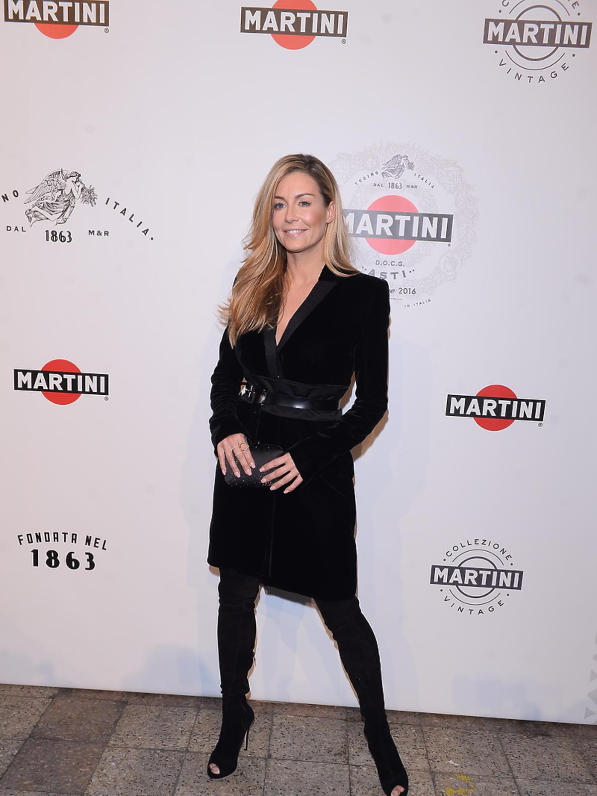 Małgorzata Rozenek  na imprezie Martini
