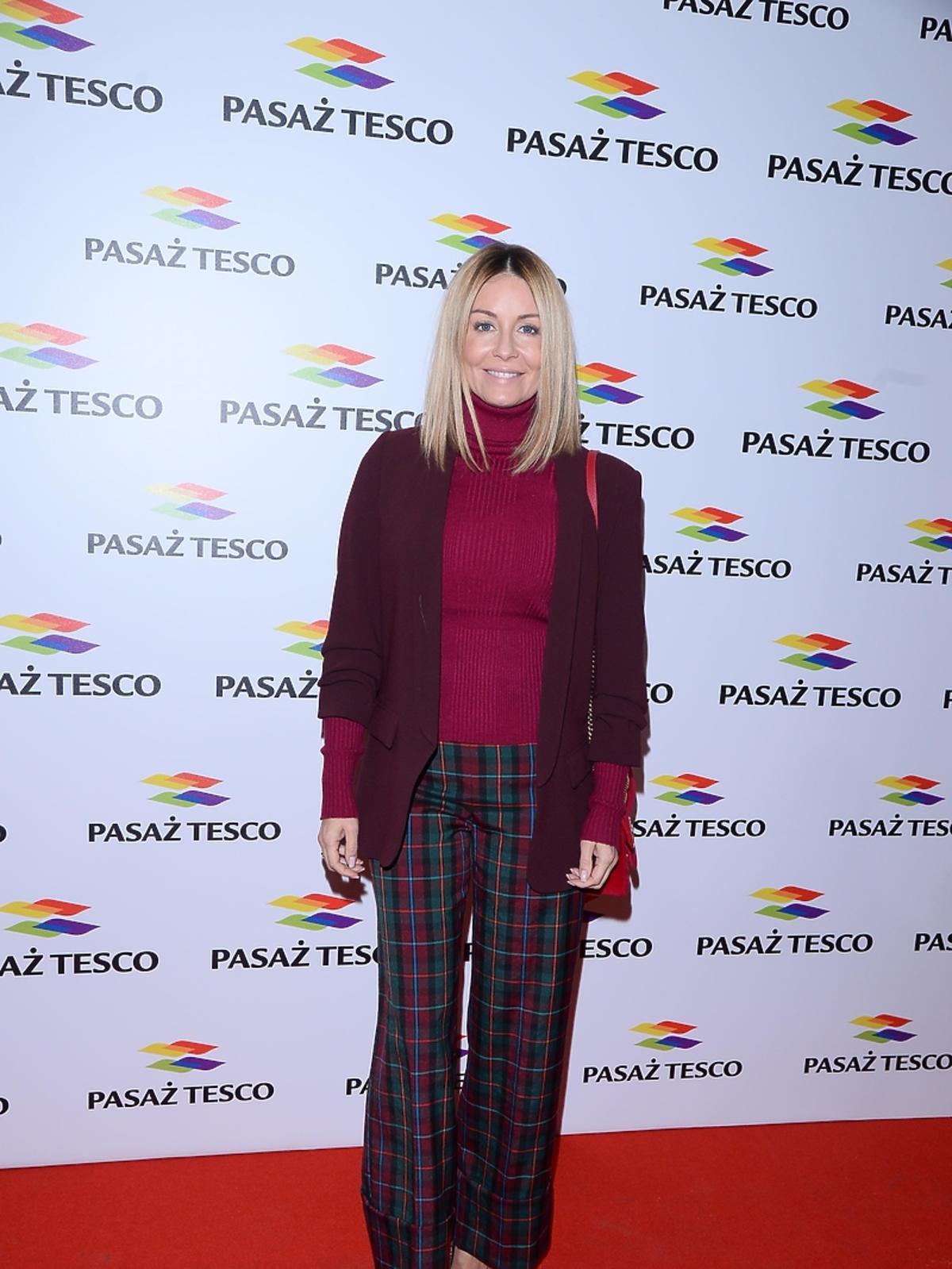 Małgorzata Rozenek na imprezie Tesco