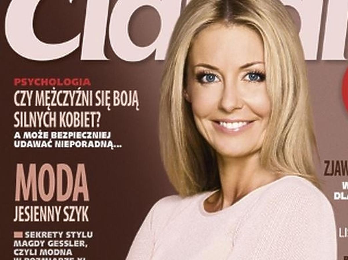 """Małgorzata Rozenek na okładce """"Claudii"""""""