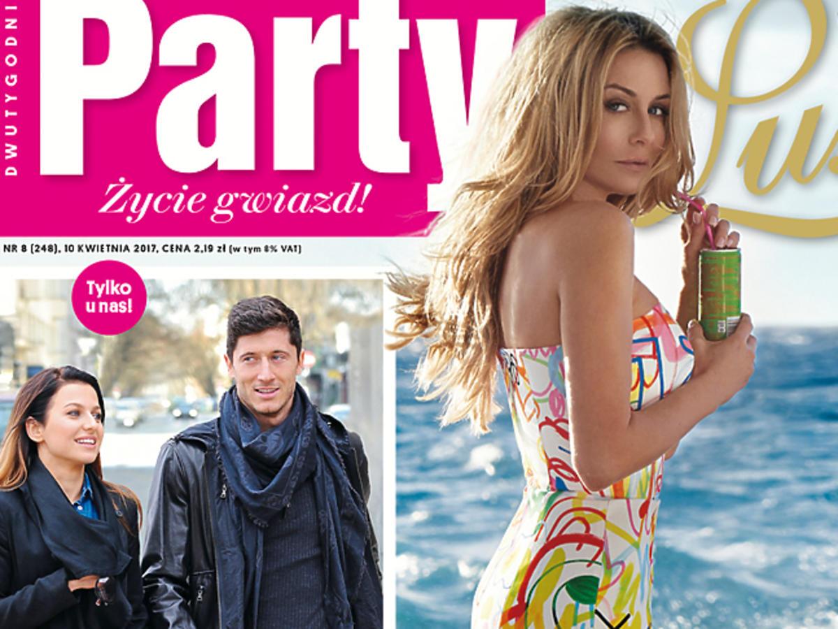 """Małgorzata Rozenek na okładce """"Party Luxe"""""""