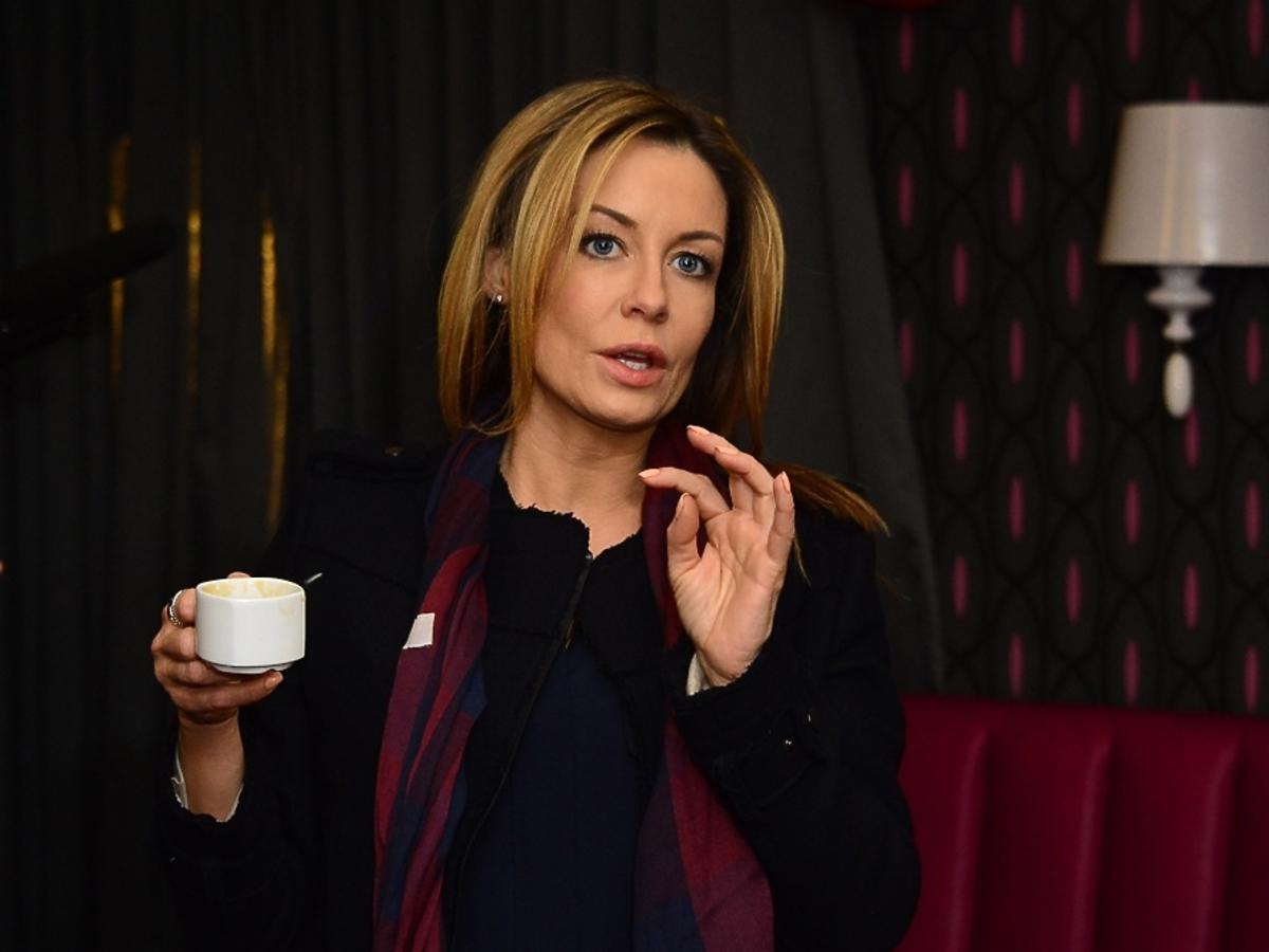 Małgorzata Rozenek na planie Piekielnego Hotelu