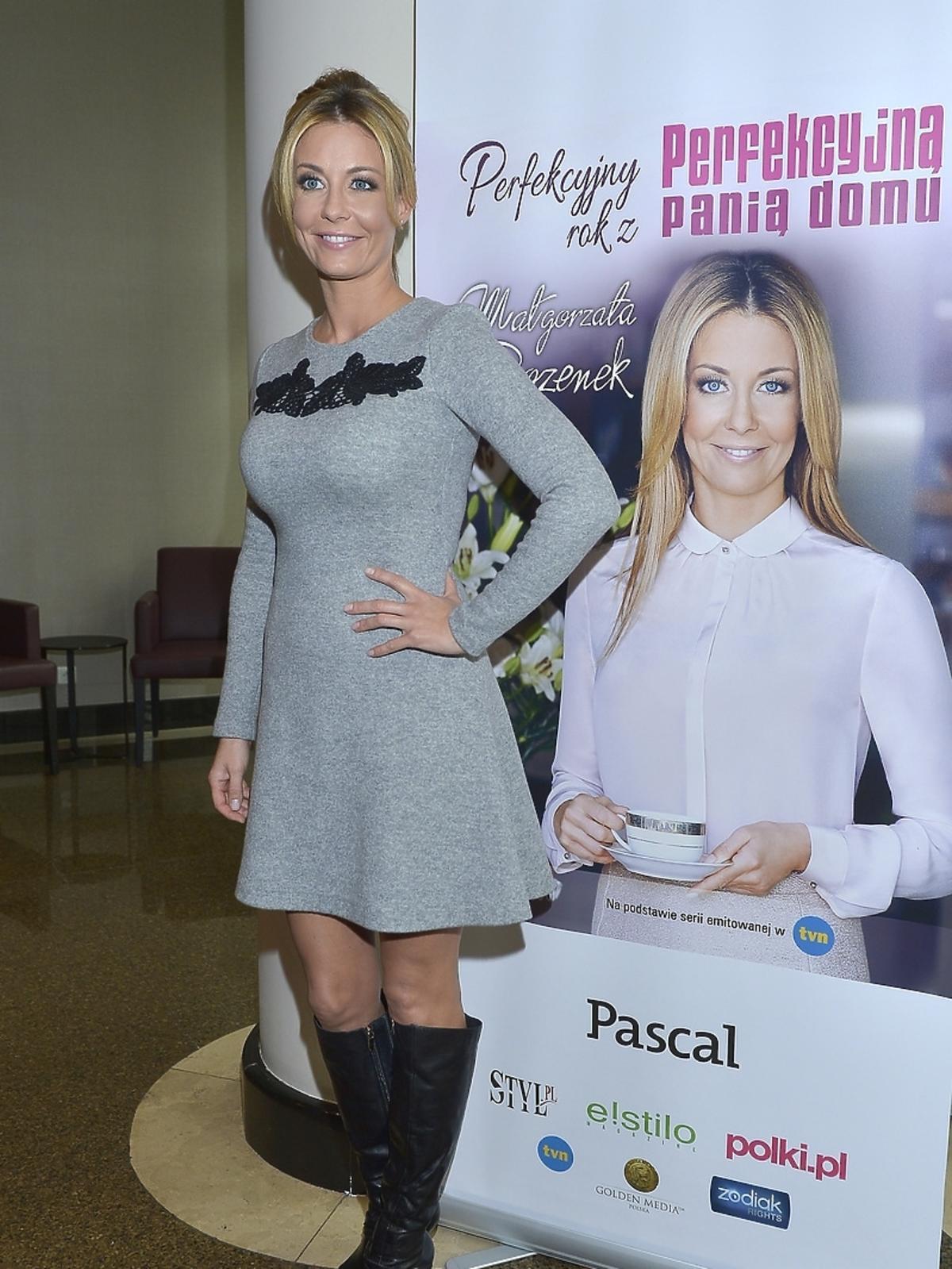 Małgorzata Rozenek na premierze książki Perfekcyjny Rok z Perfekcyjną Panią Domu