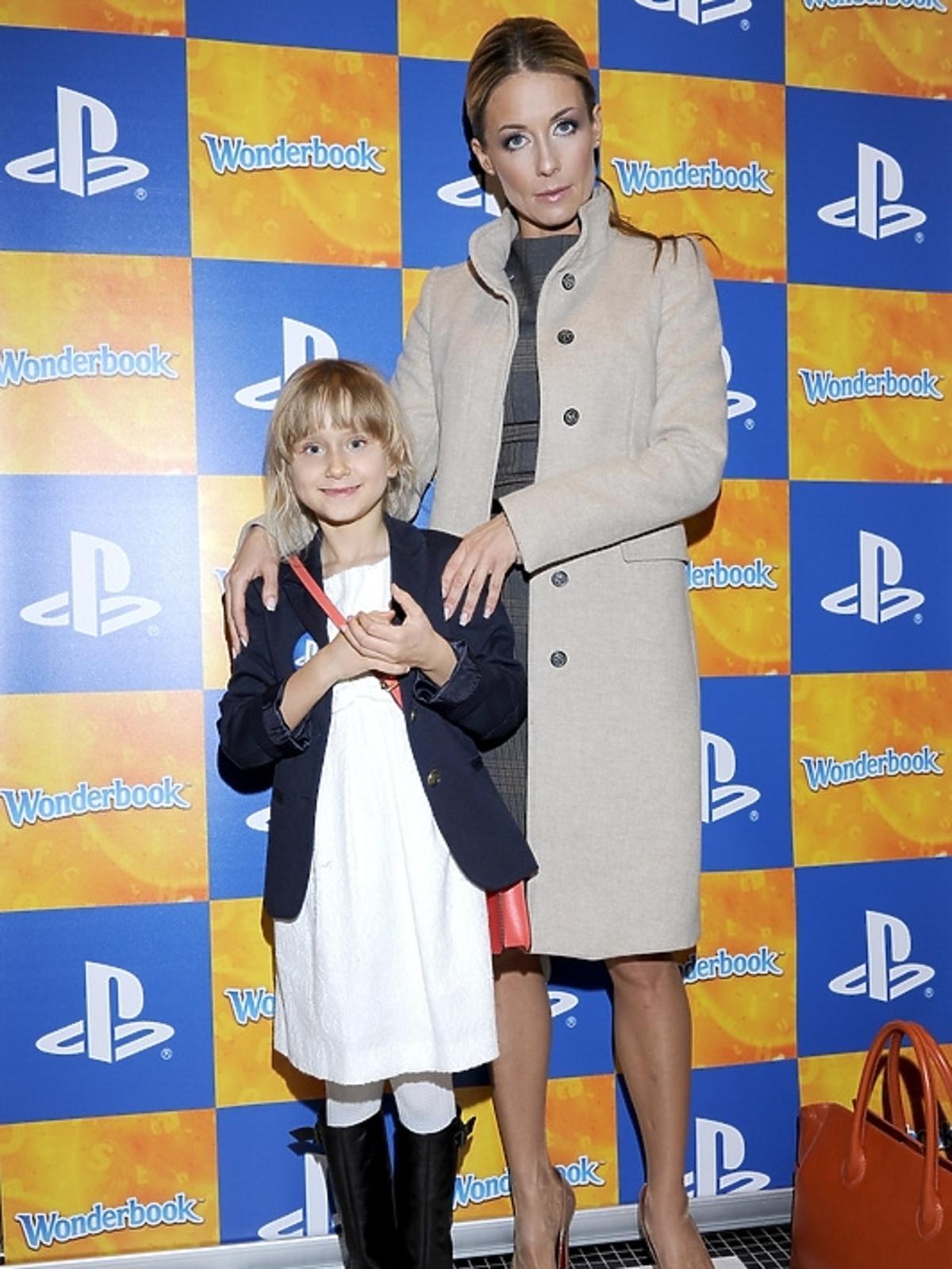 Małgorzata Rozenek na premierze PlayStation 3 - Wonderbook: Księga Czarów