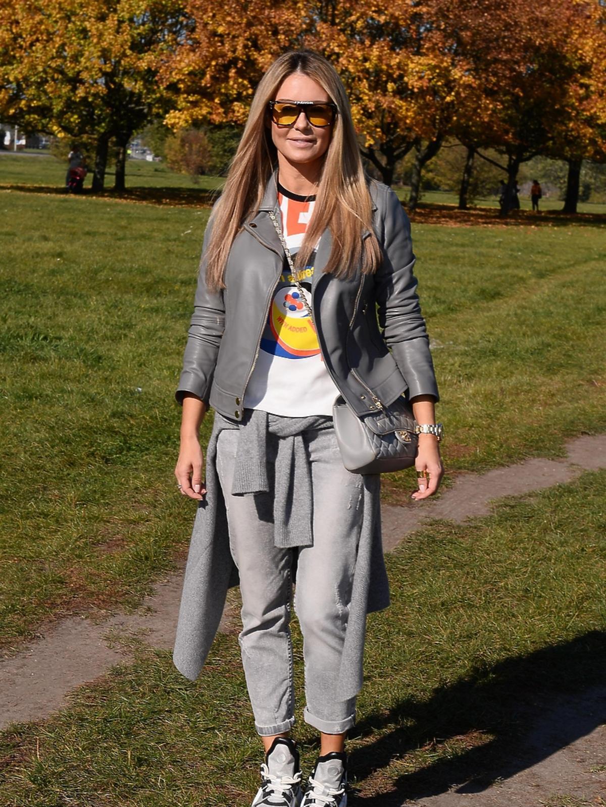 Małgorzata Rozenek na sportowej imprezie