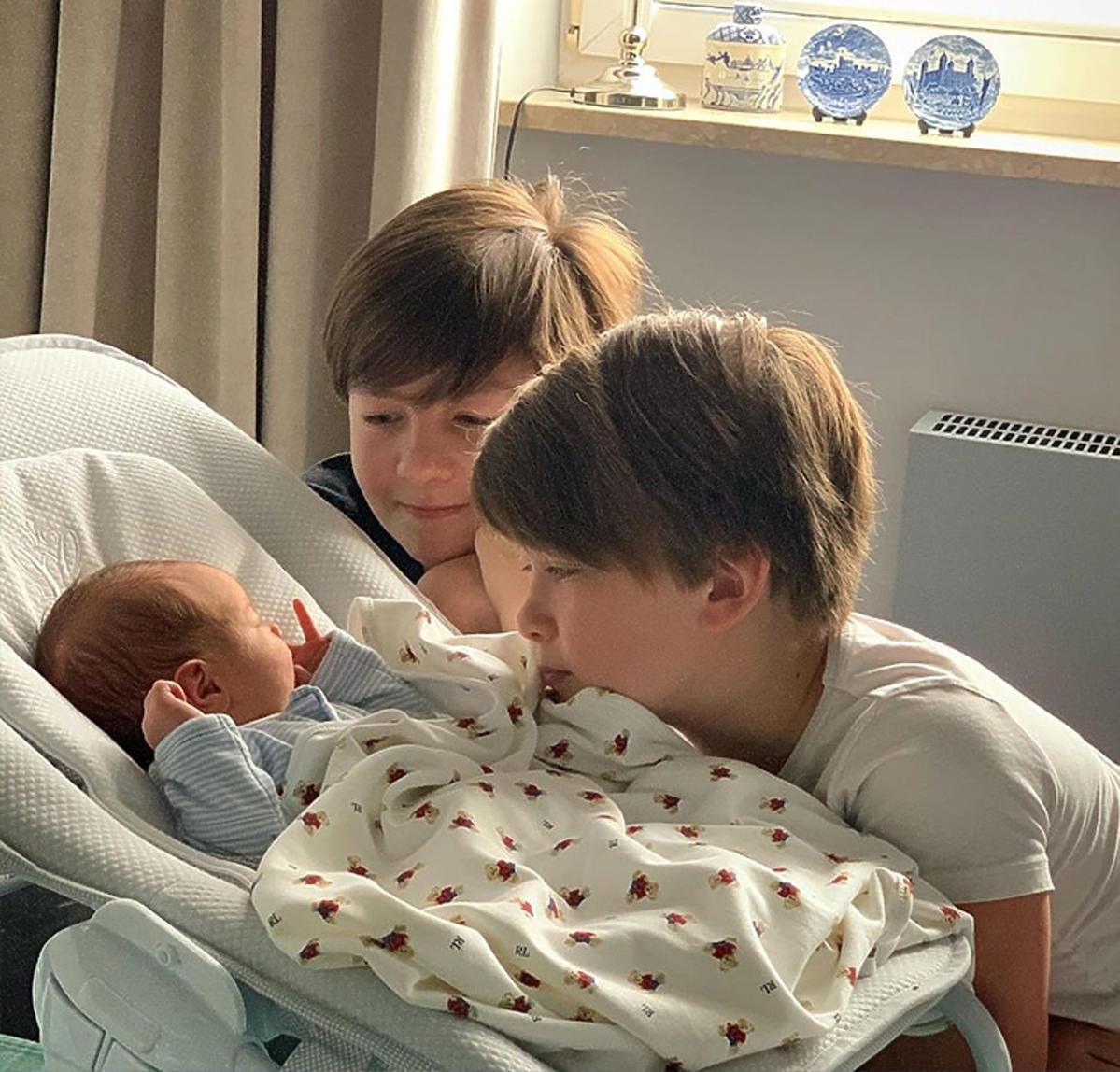 Małgorzata Rozenek pokazała pierwsze wspólne zdjęcia synów