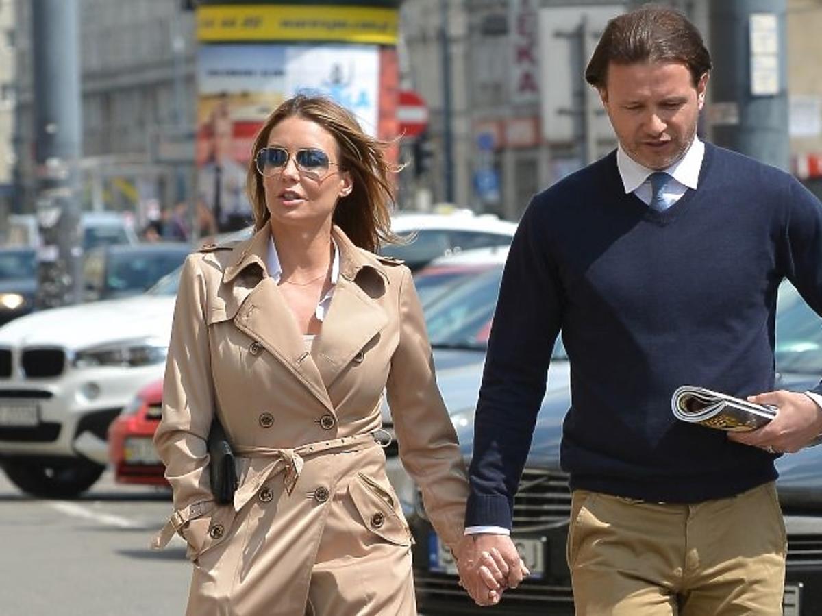 Małgorzata Rozenek, Radek Majdan spacerują