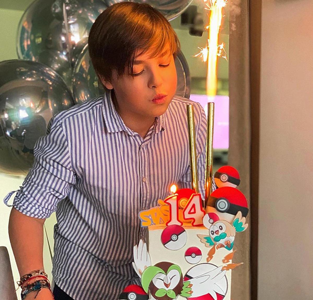 Małgorzata Rozenek świętuje urodziny oraz Dzień Dziecka