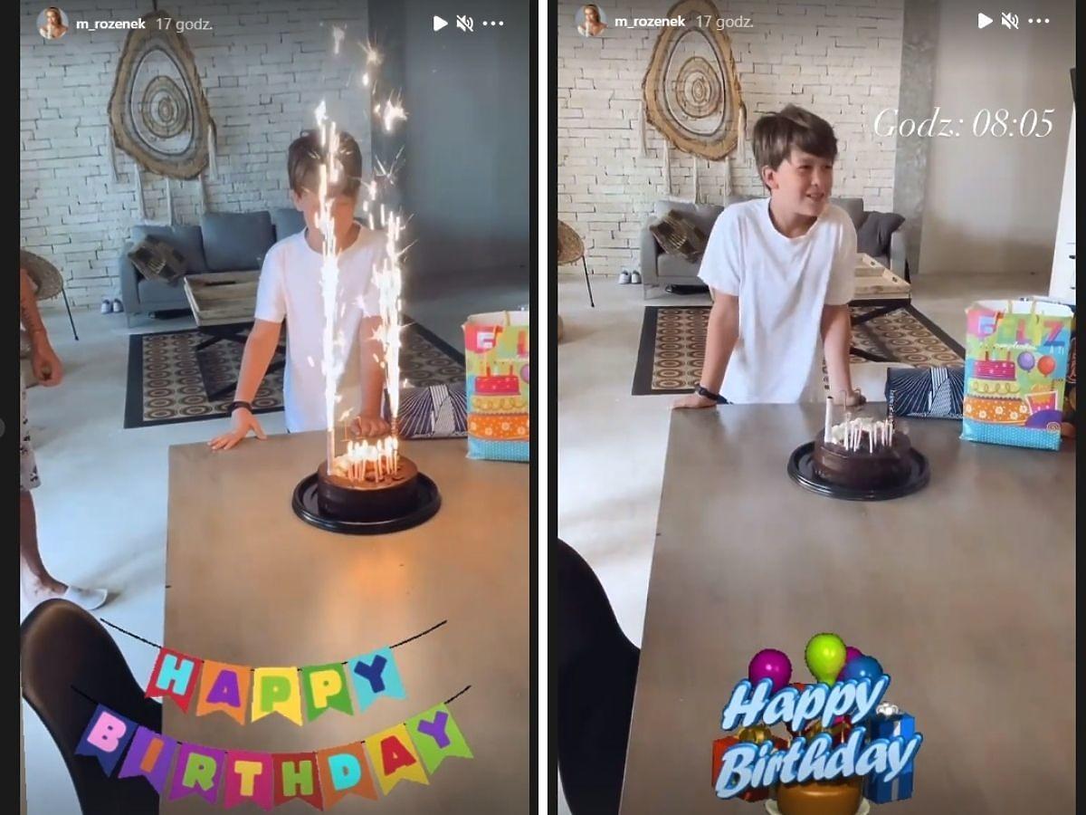 Małgorzata Rozenek świętuje urodziny syna w Meksyku