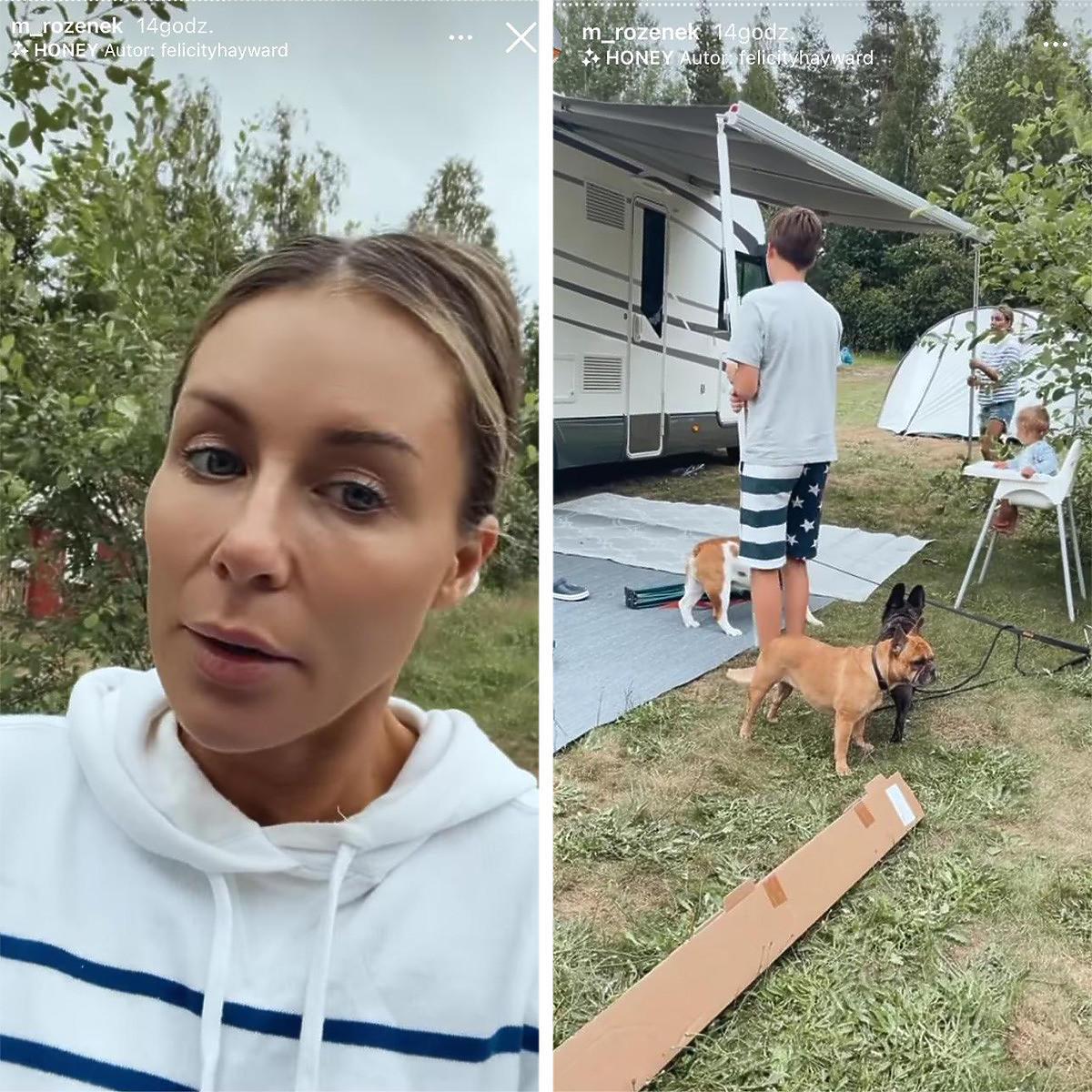 Małgorzata Rozenek testuje cierpliwość Radka na wakacjach w kamperze