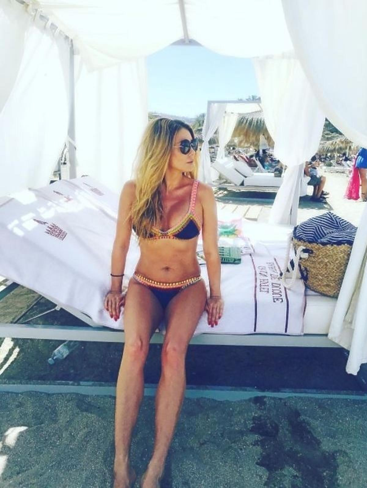Małgorzata Rozenek w bikini marki KIINI