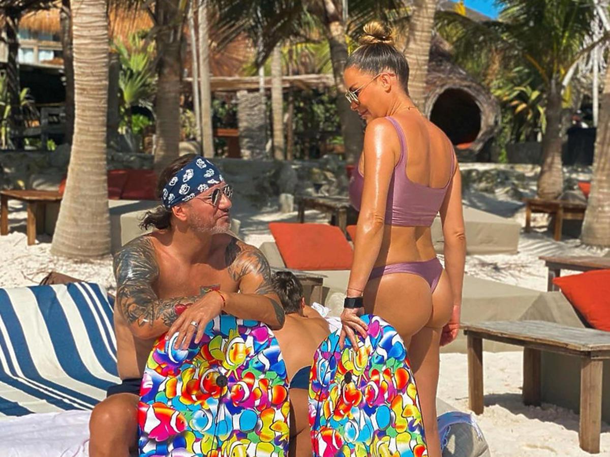 Małgorzata Rozenek w bikini na wakacjach