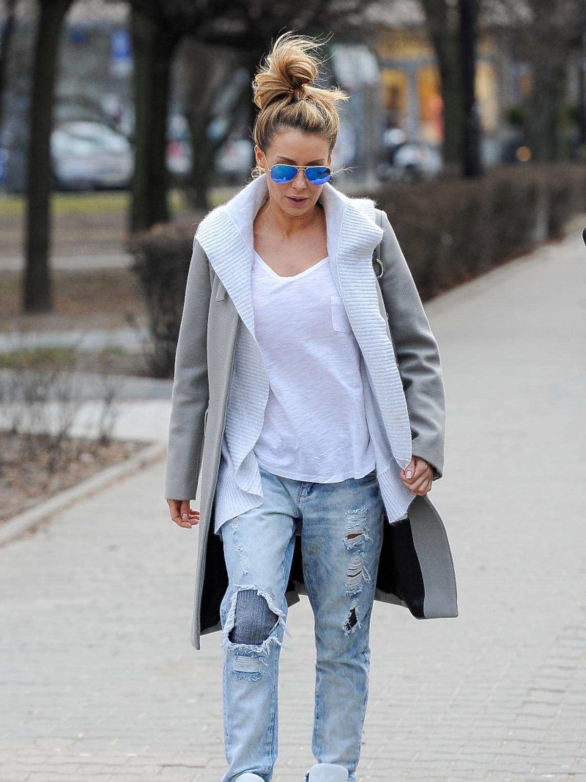 Małgorzata Rozenek w dżinsach
