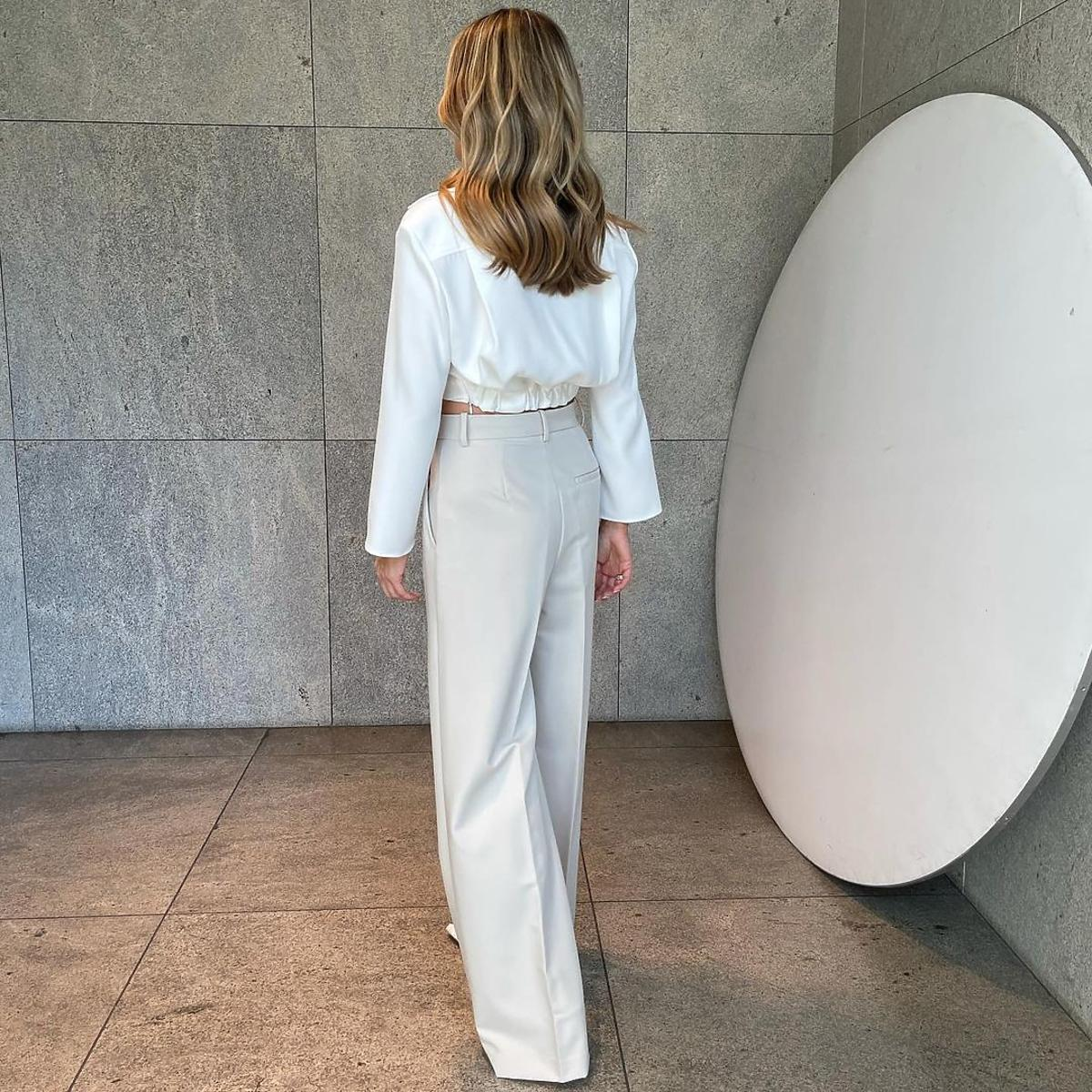 Małgorzata Rozenek w modnej stylizacji na jesień