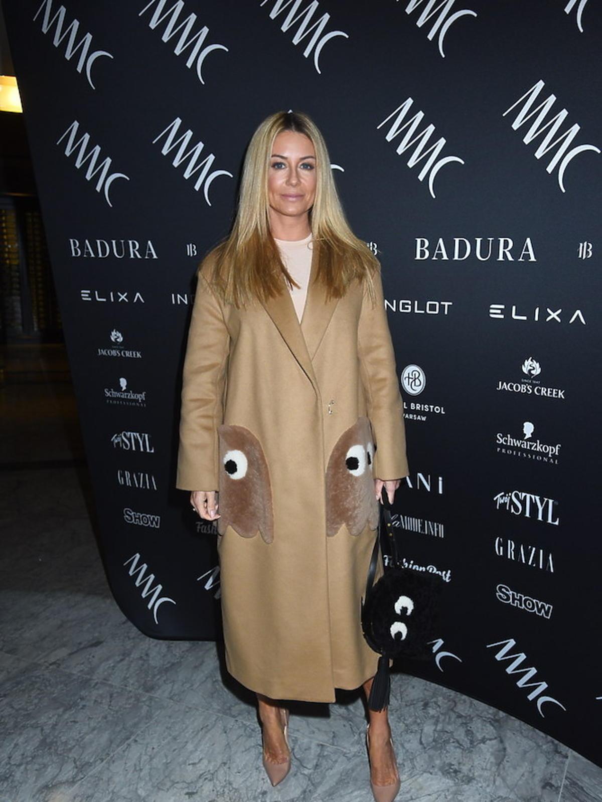 Małgorzata Rozenek w płaszczu za 8 tys złotych na pokazie MMC
