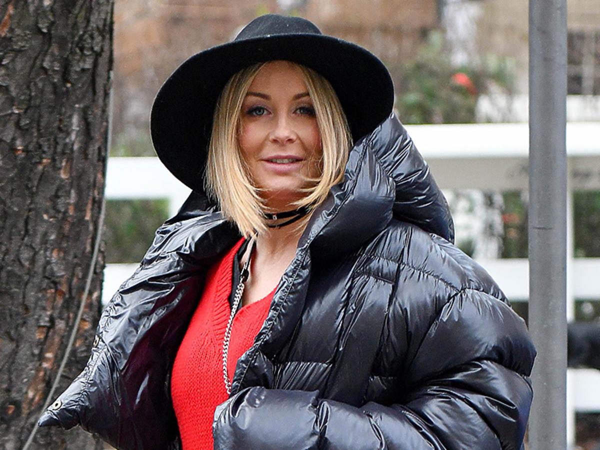 Małgorzata Rozenek w puchowej kurtce