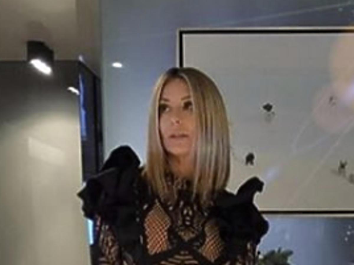 Małgorzata Rozenek w seksownej sukience