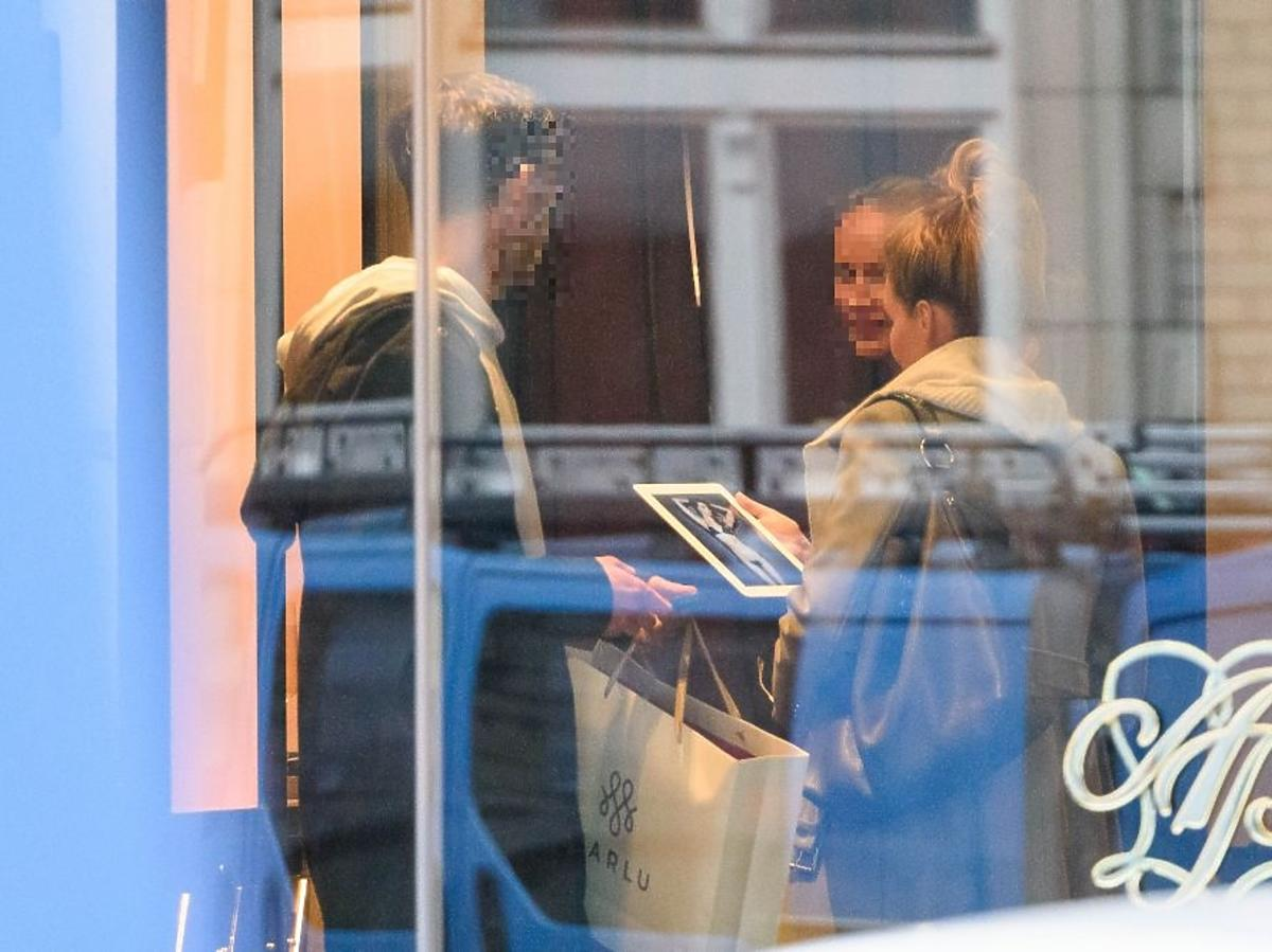 Małgorzata Rozenek w sklepie