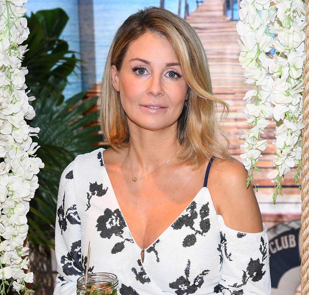 Małgorzata Rozenek w sukience w kwiatki