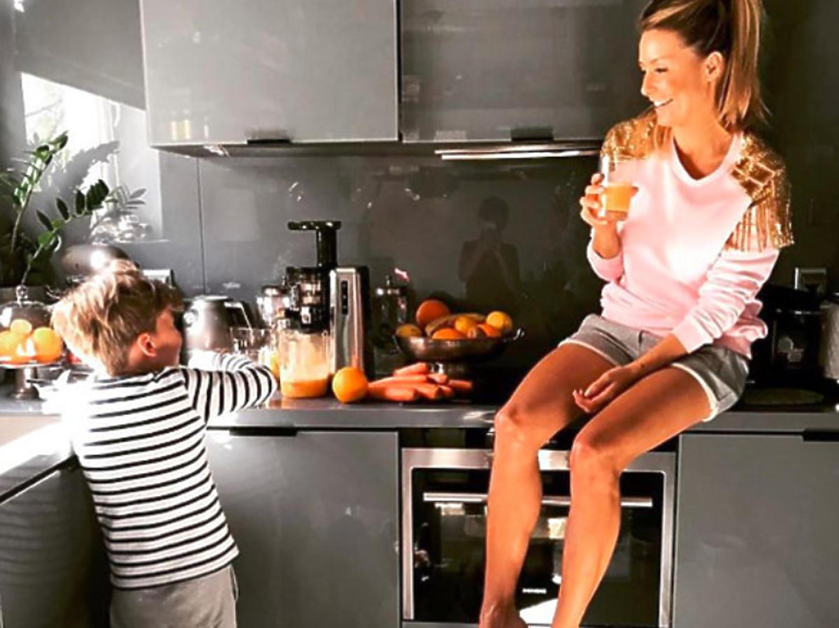 Małgorzata Rozenek w swojej kuchni