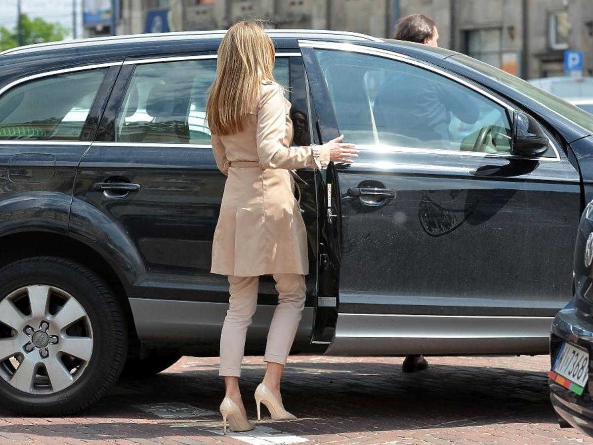 Małgorzata Rozenek wsiada do Audi