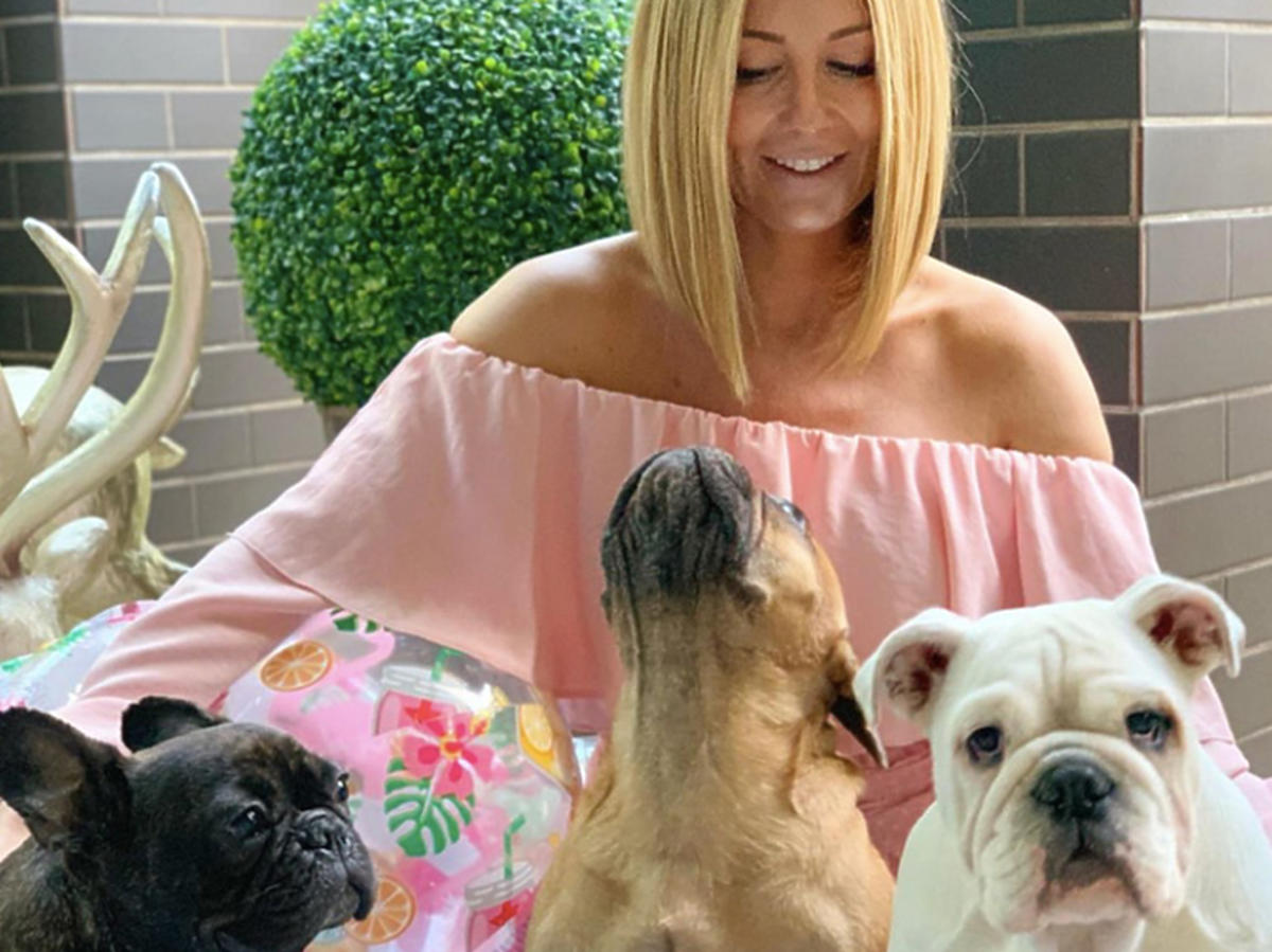 Małgorzata Rozenek z psami