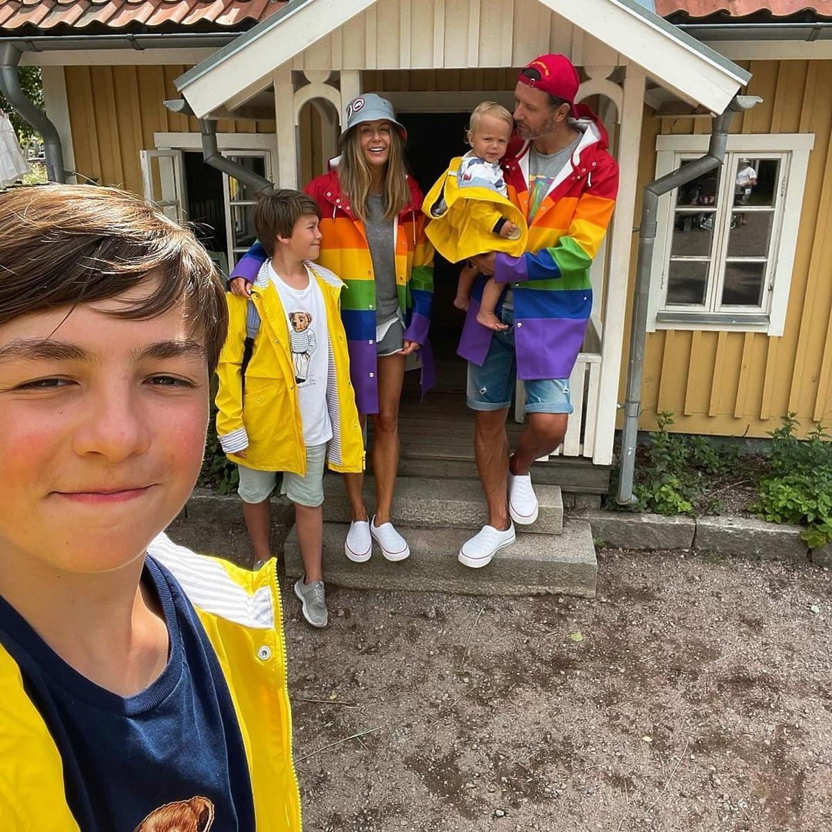 Małgorzata Rozenek z rodziną na wakacjach kamperem