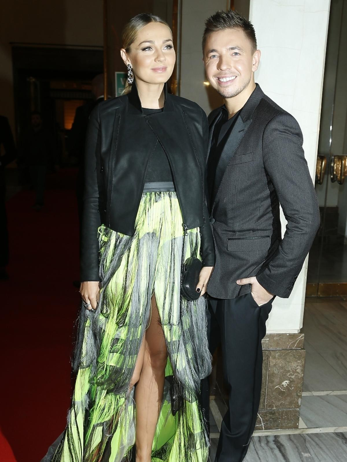 Małgorzata Socha i Łukasz Jemioł na imprezie Flesz Fashion Night