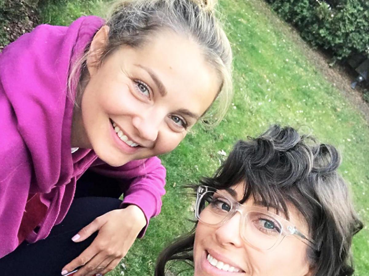 Małgorzata Socha i Natalia Kukulska wyszły razem na spacer ze swoimi córkami