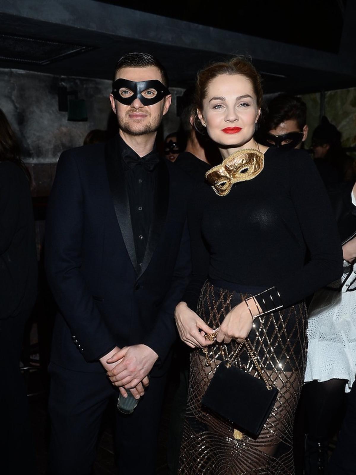 Małgorzata Socha, Macień Zień na balu maskowym w maskach