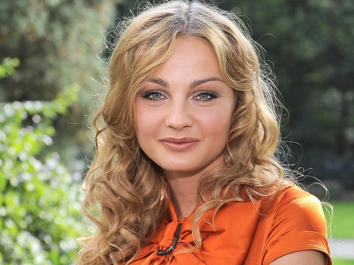 Małgorzata Socha na planie BrzydUli
