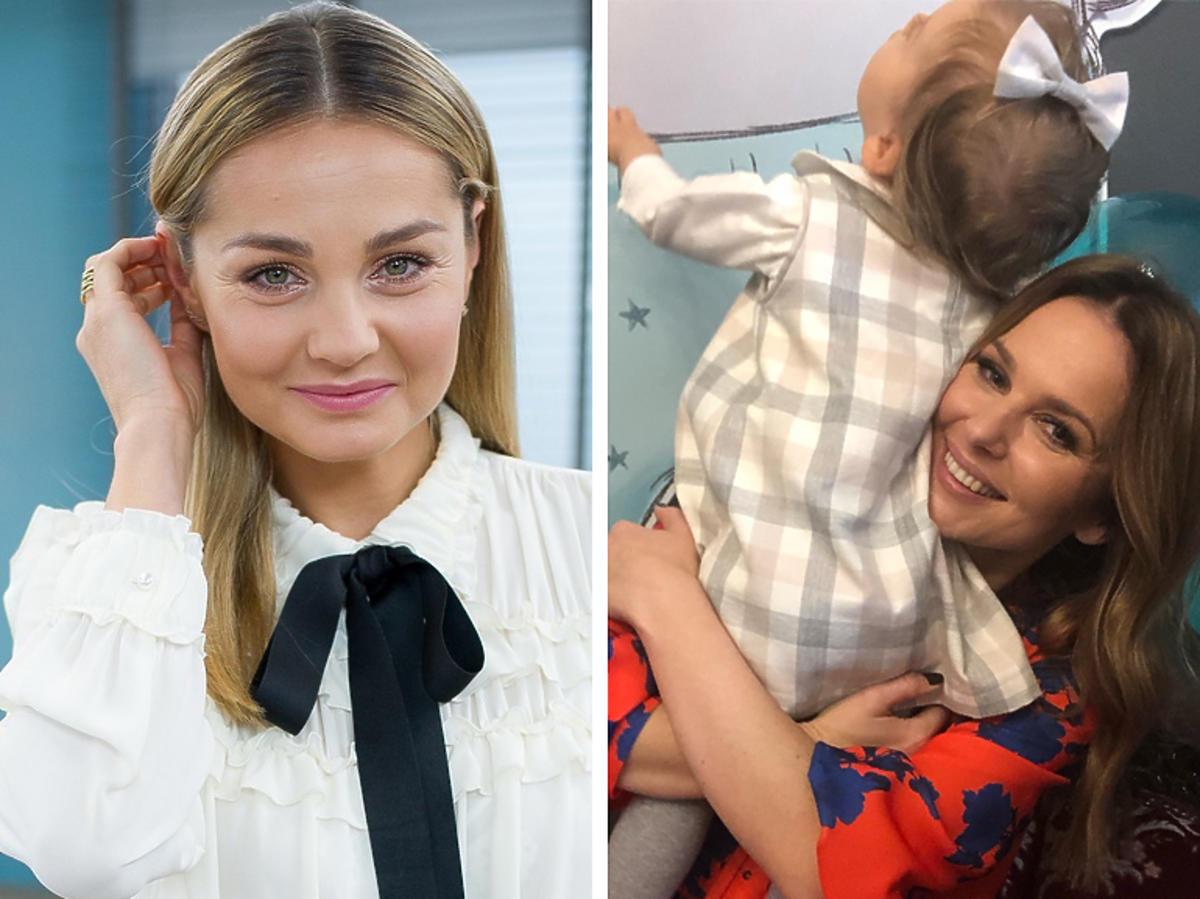 Małgorzata Socha, Paulina Sykut z córką Różą na Instagramie