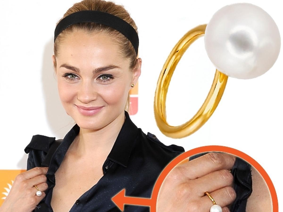 Małgorzata Socha, pierścionek Tous