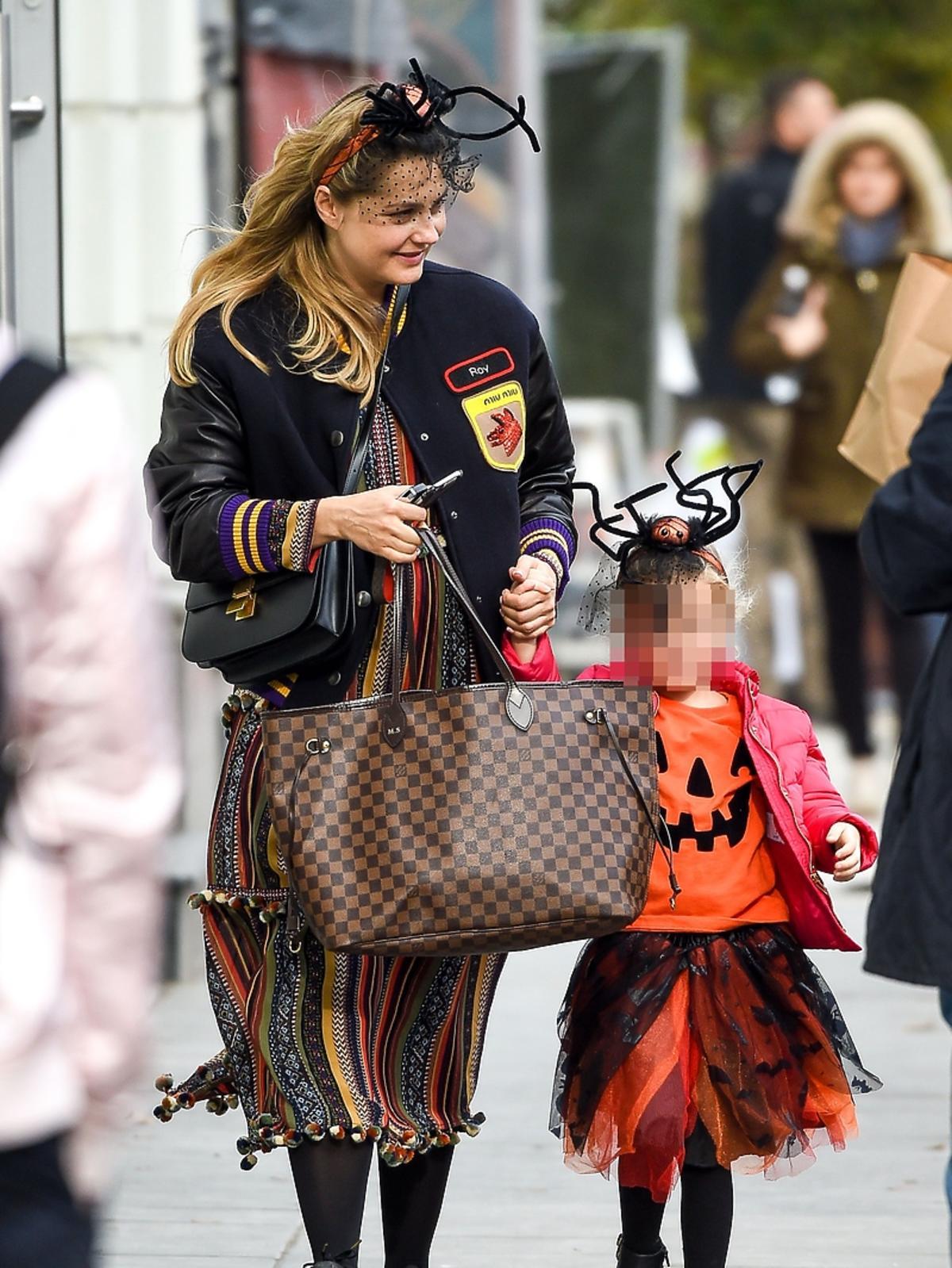 Małgorzata Socha z córką szykują się na Halloween
