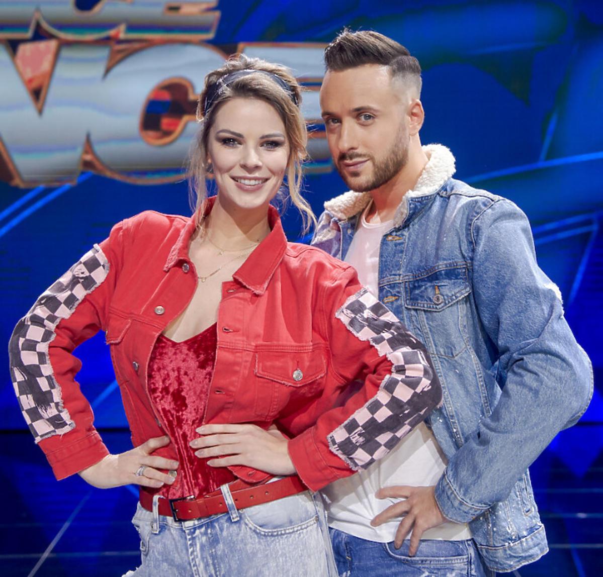 Małgorzata Tomaszewska i Aleksander Sikora w Dance Dance Dance