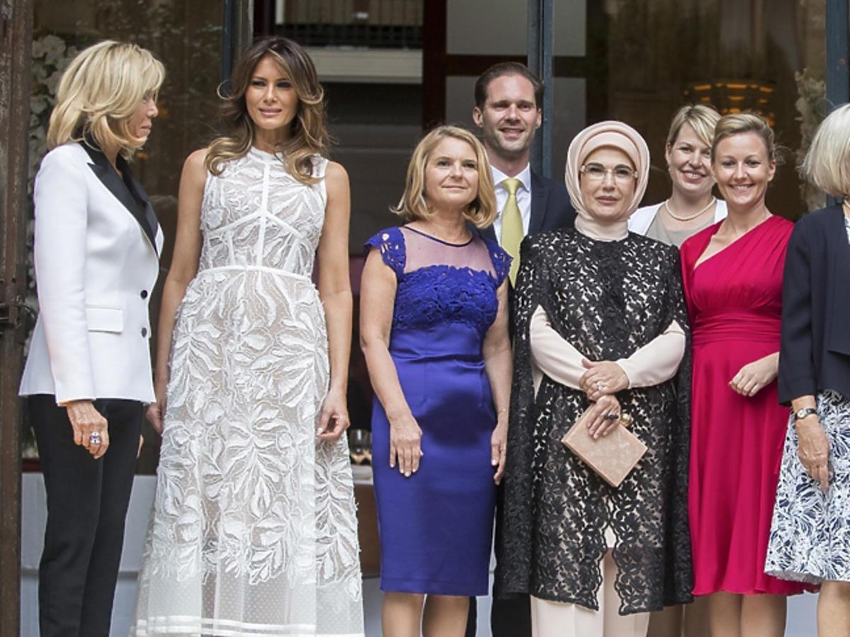 Małgorzata Tusk, szczyt NATO, Melania Trump