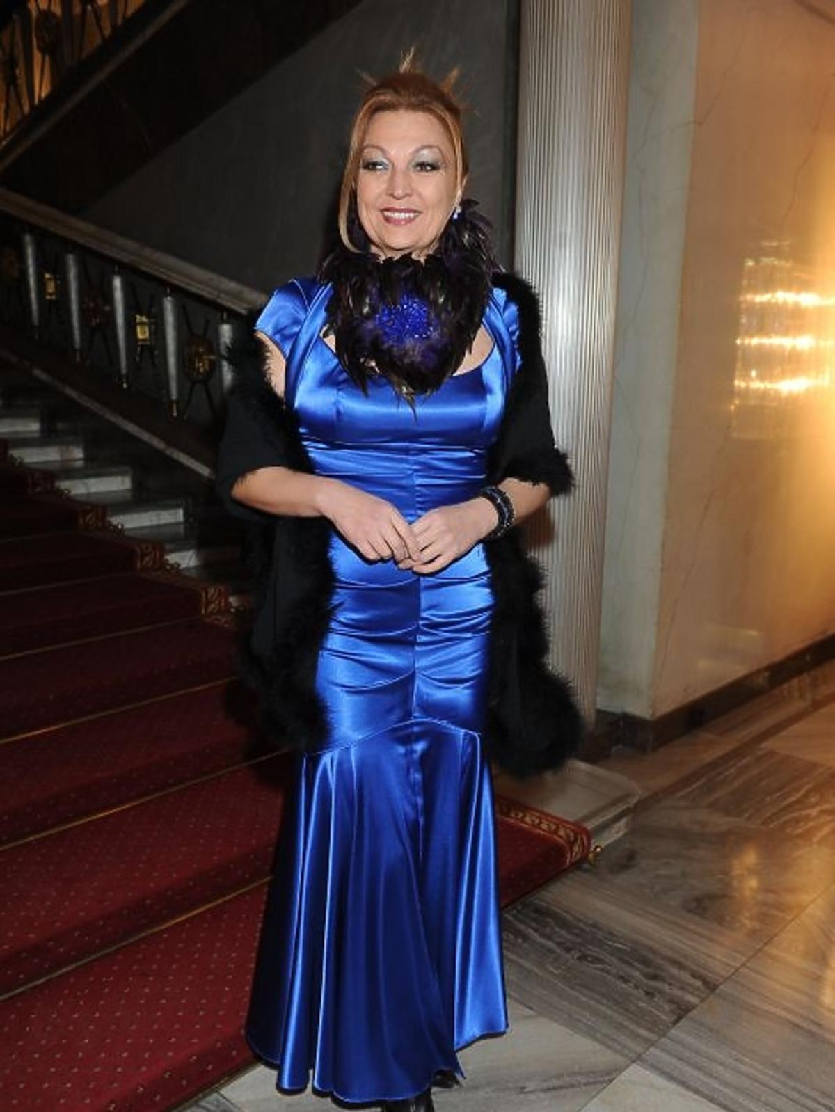 Małgorzata Walewska na gali Paszporty Polityki 2012