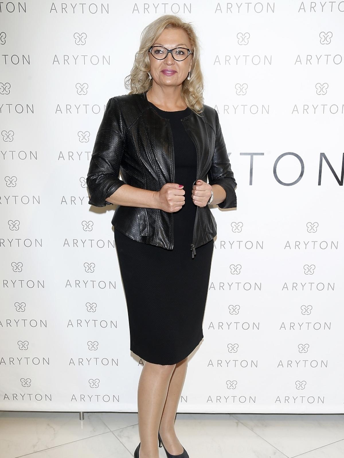 Małgorzata Walewska na pokazie nowej kolekcji marki Aryton