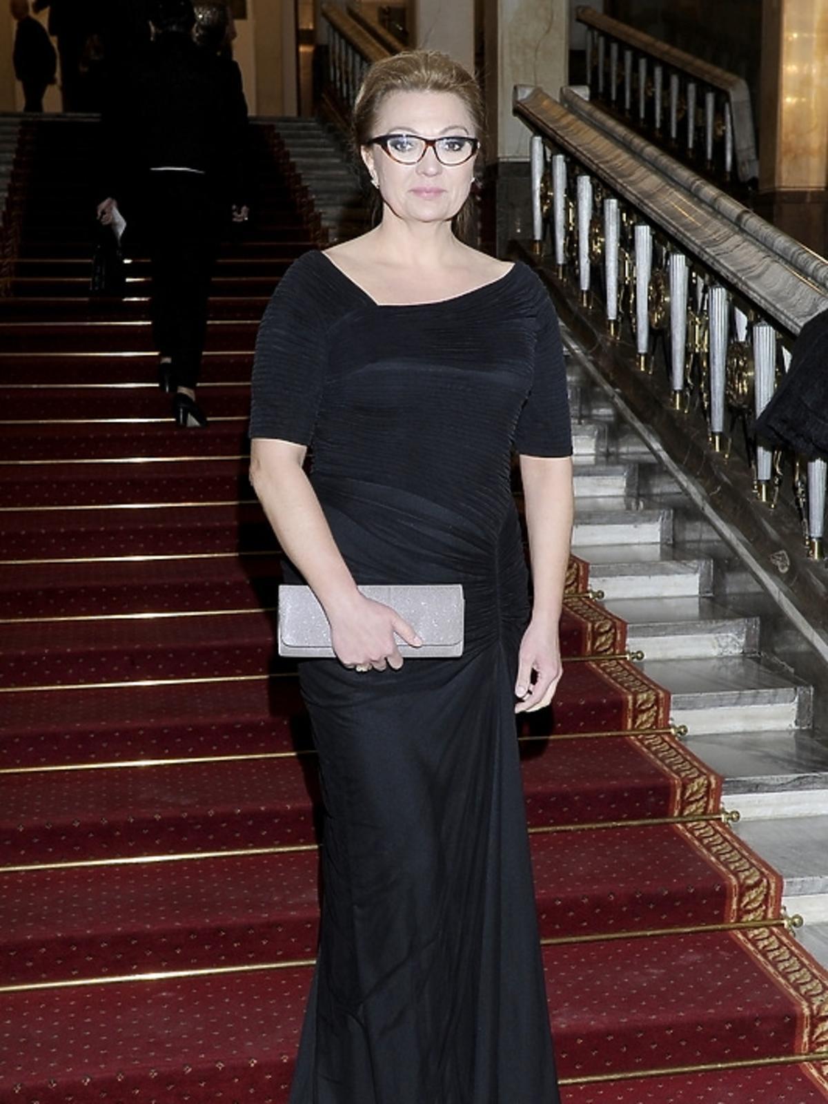 Małgorzata Walewska na premierze opery