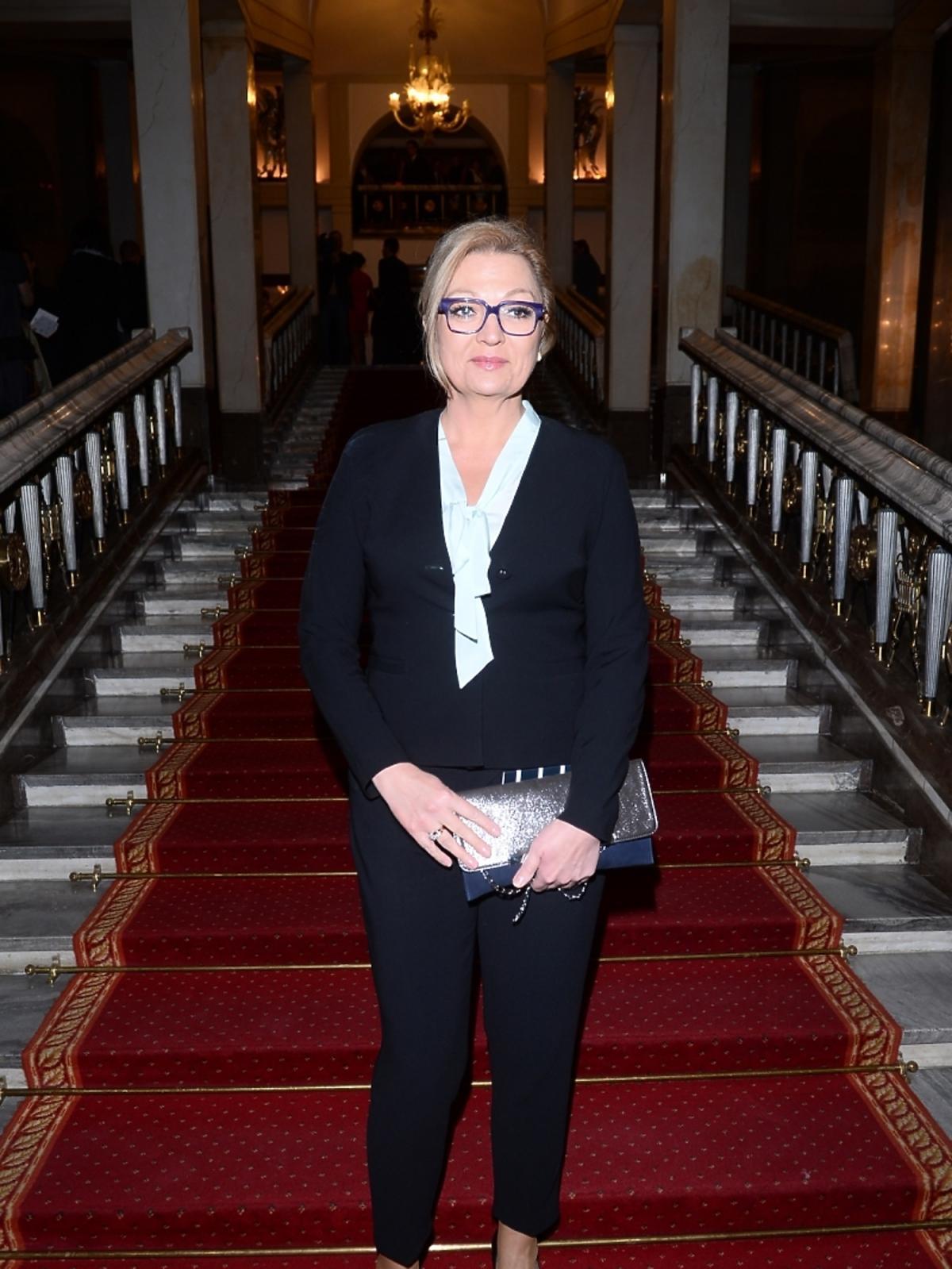 Małgorzata Walewska na rozdaniu Paszportów Polityki