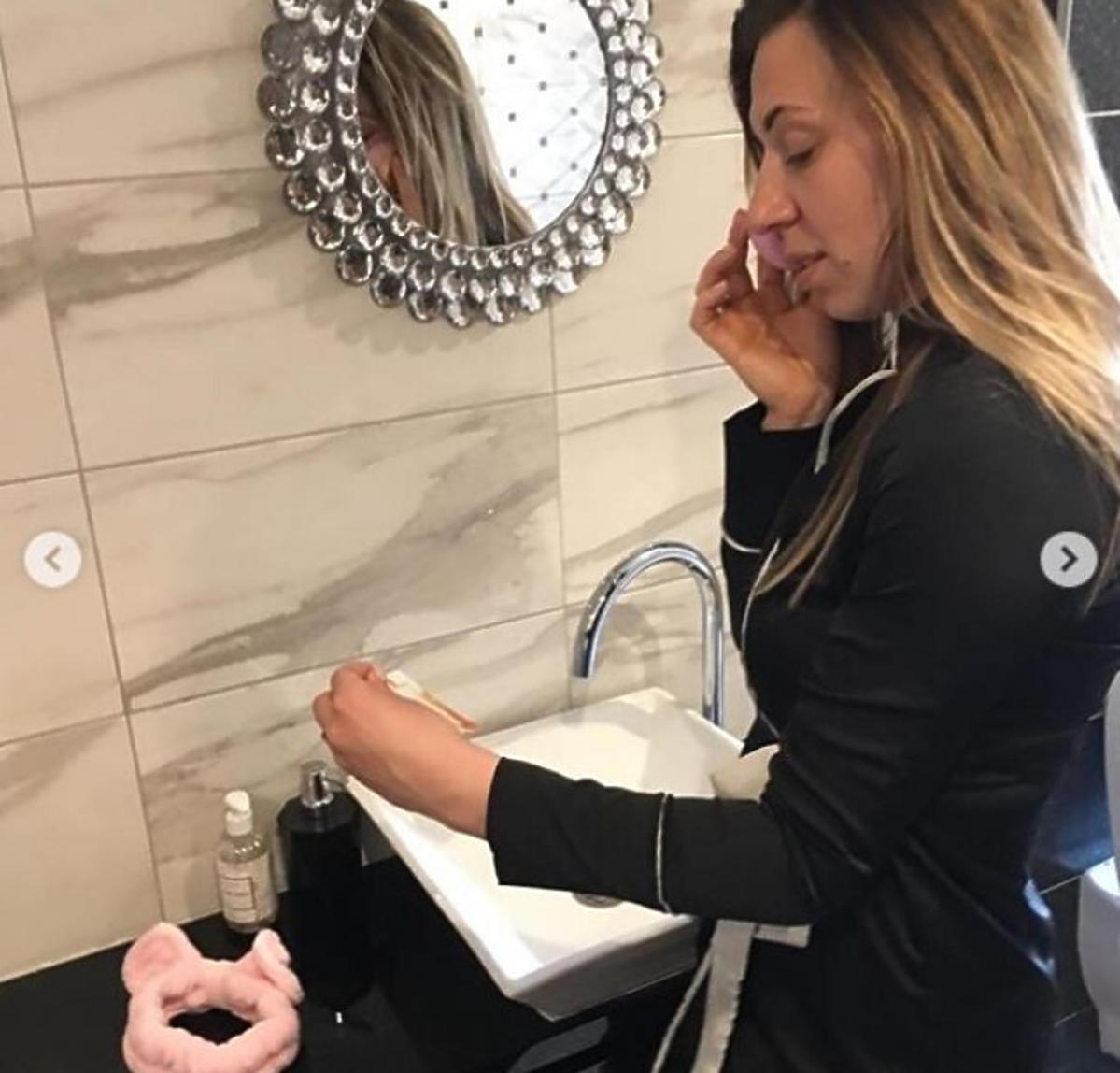 Małgosia Borysewicz pokazała swoją łazienkę