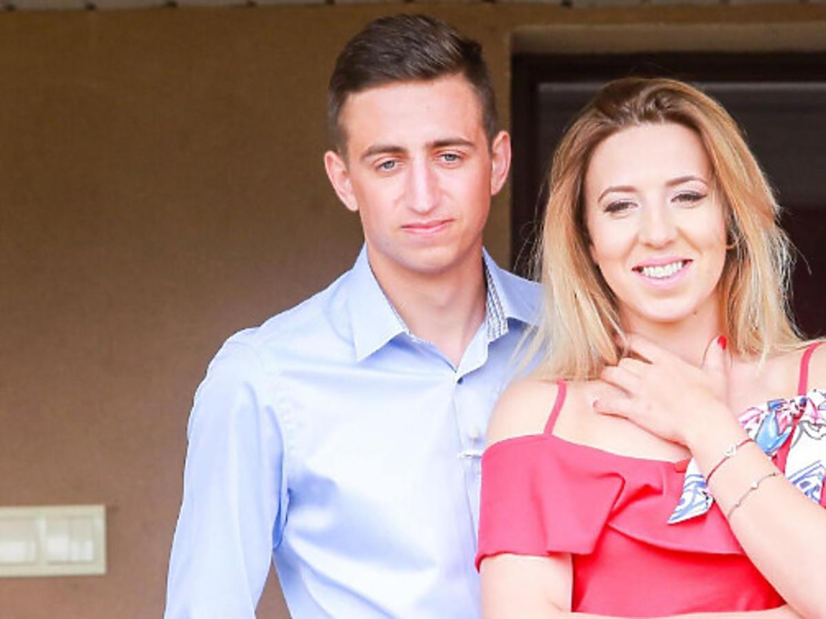 Małgosia Borysewicz z mężem