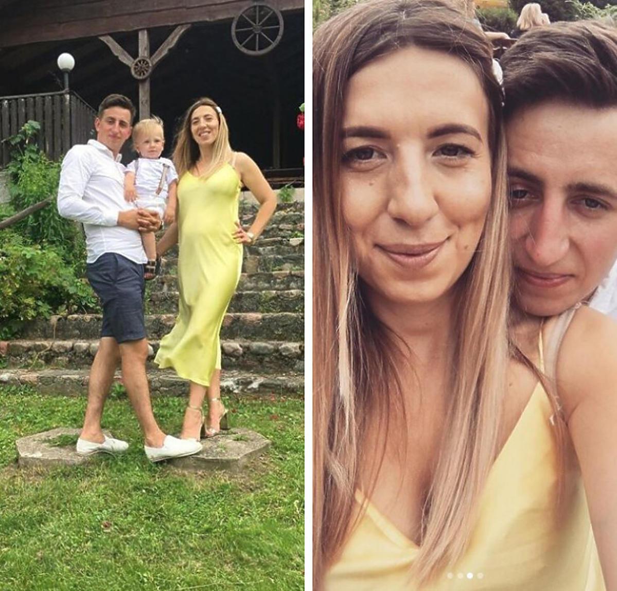 Małgosia Borysewicz z Rolnik szuka z mężem i synem