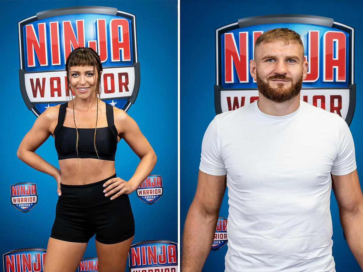 """Malwina Wędzikowska i Jan Błachowicz w """"Ninja Warrior Polska"""""""