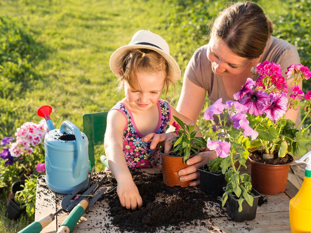 Mały ogrodnik