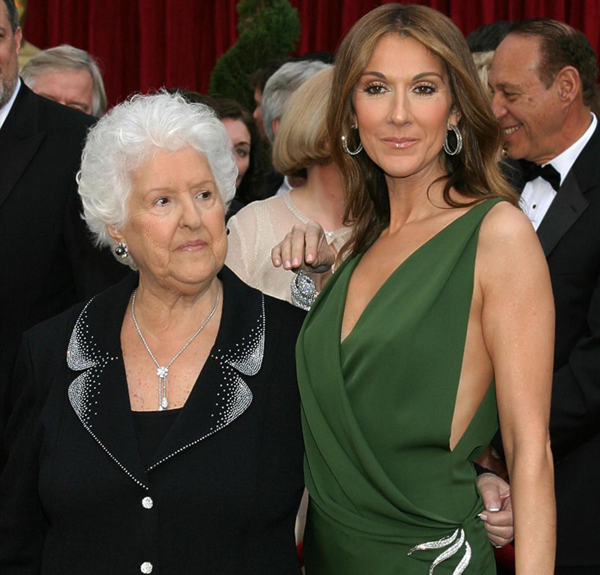 Mama Celine Dion Theresa Dion nie żyje